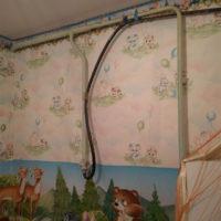 Газовая разводка в частном доме(переделка) - БЫЛО