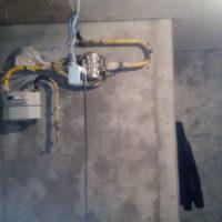 Обрезка и перенос газовой трубы 3