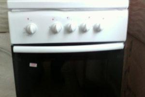 демонтаж старой плиты, крана и монтаж нового шарового крана, а также плиты с заменой гибкой подводки 3