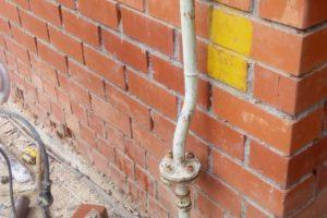 Корректировка газового опуска в частном доме
