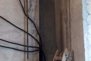Обрезка газвой трубы, сварка новых труб, результат