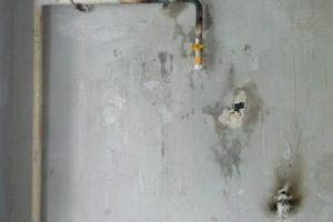 Перенос газовой трубы вторая очередь