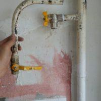 Результат обрезки газовой трубы 2