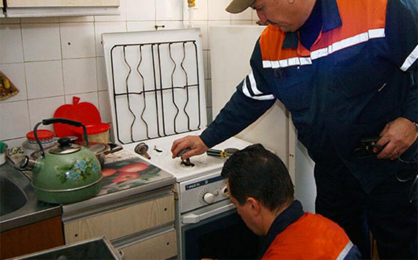 Установка газовой плиты своими руками штраф 5